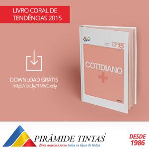 Tintas Piramide Sao Caetano. Tendencias 2015 cotidiano+